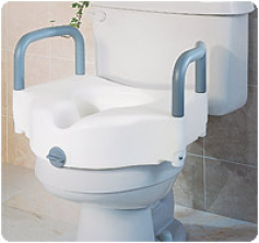 Pleasing Locking Elevated Toilet Seat Warms Creativecarmelina Interior Chair Design Creativecarmelinacom