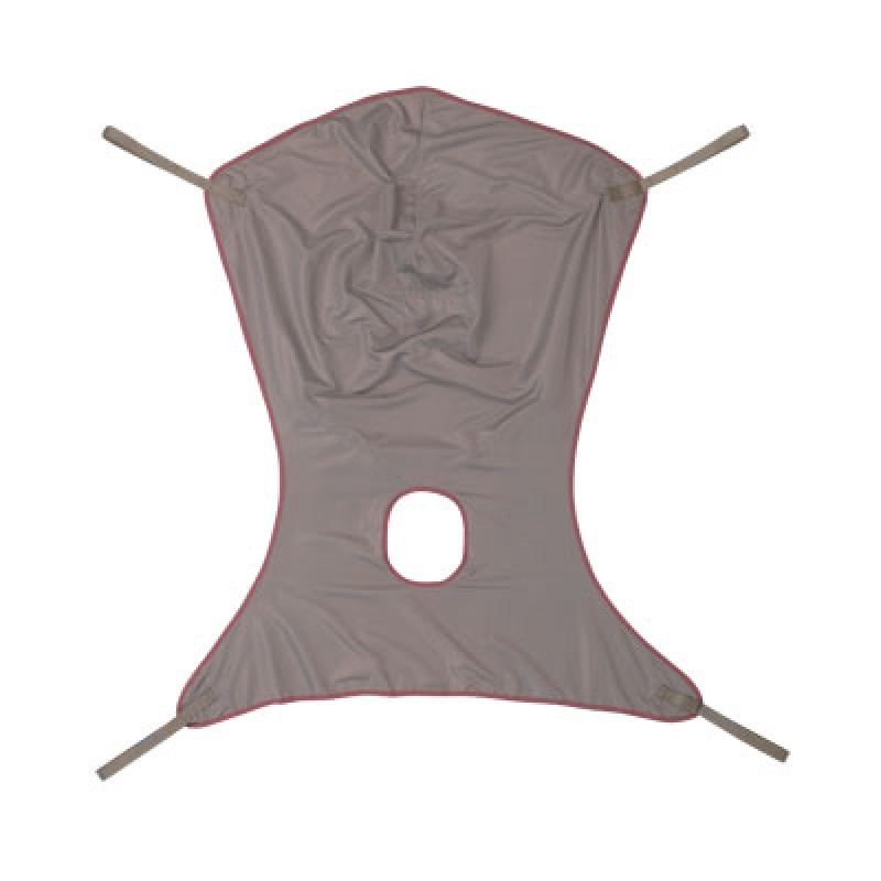 Sling Comfort w/Commode Poly Med