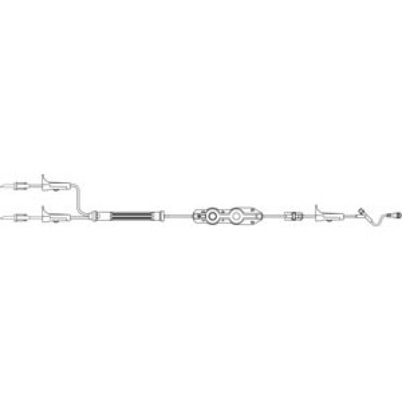 Outlook Pump Filterflow Filtered Set with Safsite Needle-free Injection Site