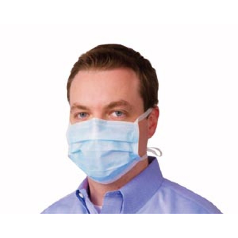 Surgical  Tie-on Face Mask Blue