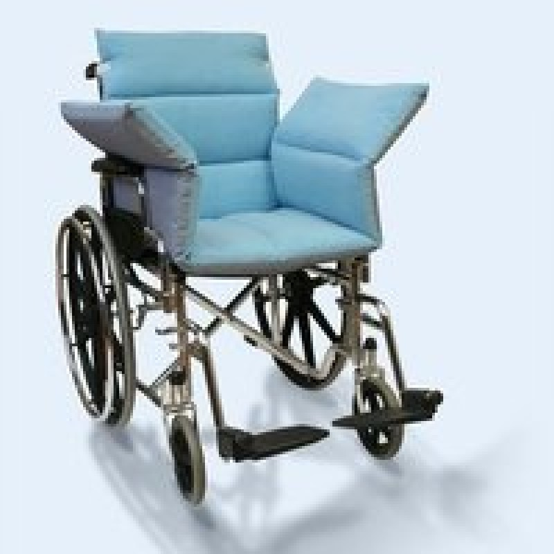 Wheelchair Comfort Seat , Rotational Cover, Reversible, Fluid-Proof / Water-Resistant, 39''