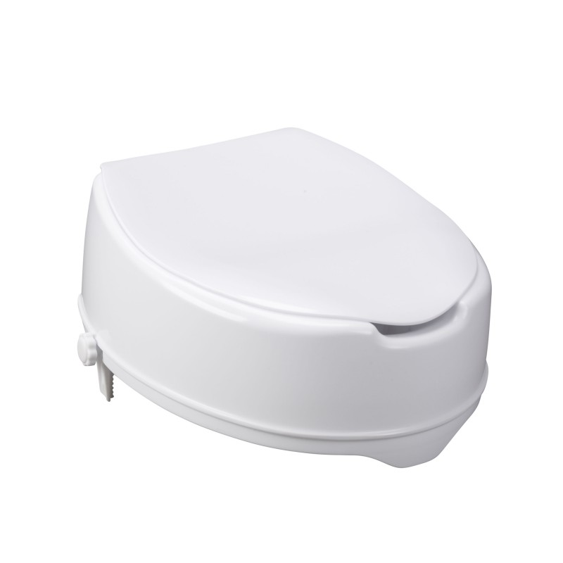 Drive Medical Raised Toilet Seat With Lock And Lid 12063