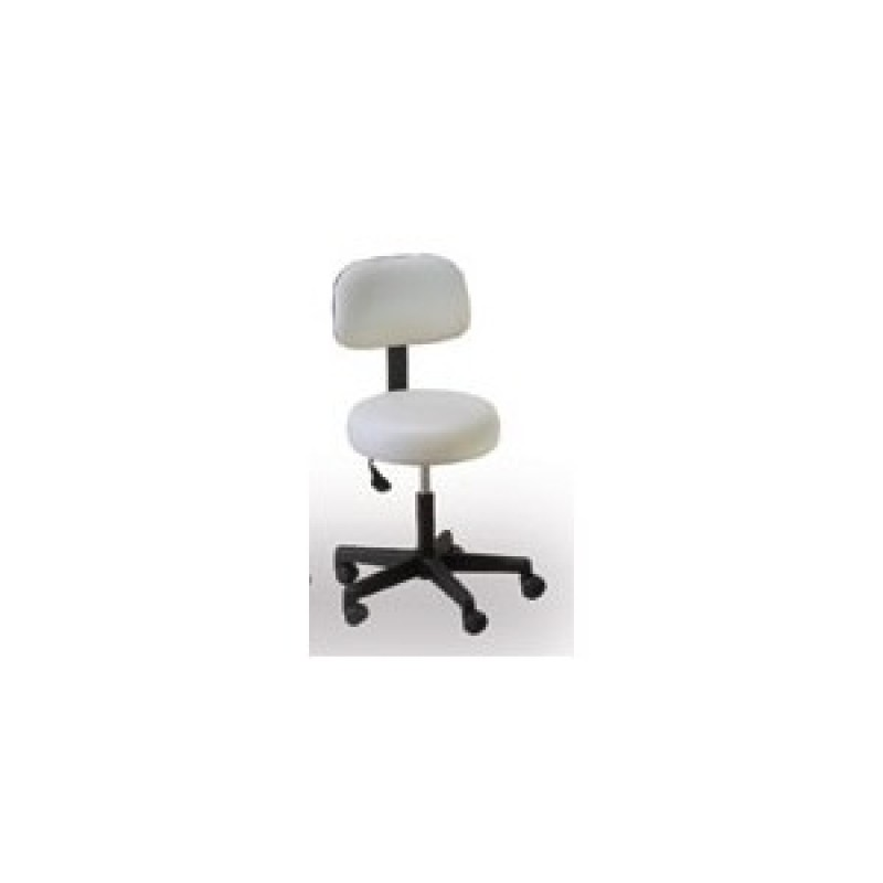 Econobuoy stool with Backrest 17 - 22 inch