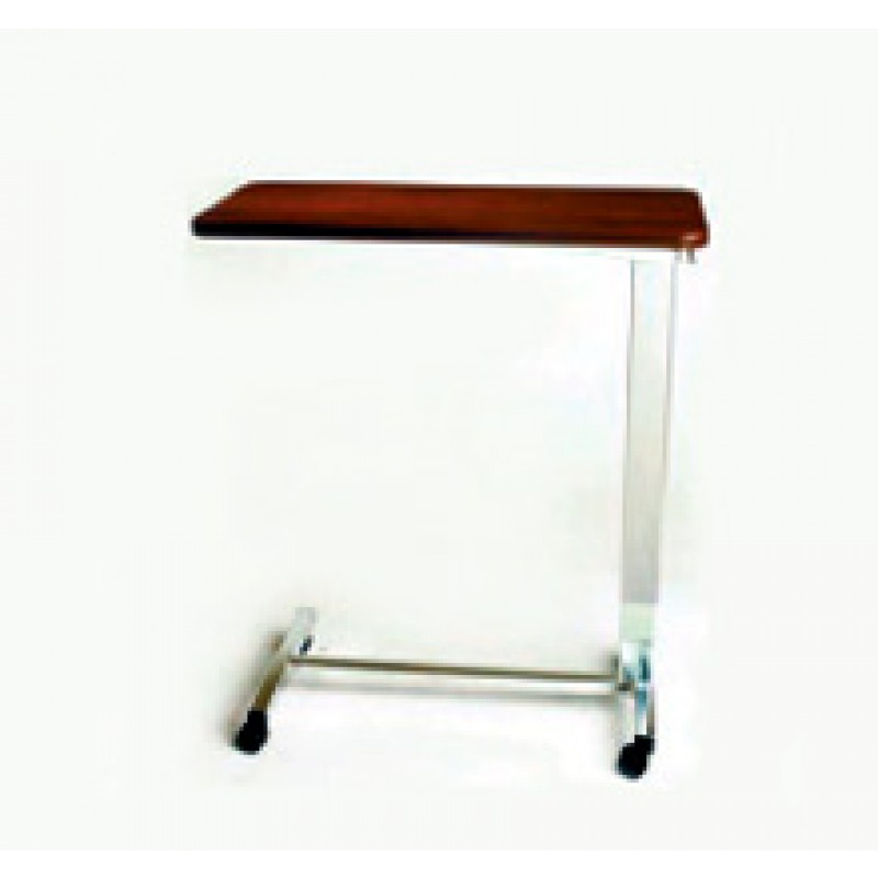 """Overbed Table, Hospital, Auto, Vanity/ Mirror, 15"""" x 30"""" Top, H Base"""