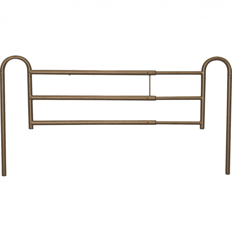 Tool Free Adjustable Length Home Style Bed Rail