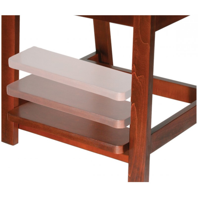 Deluxe Wood Hip High Chair