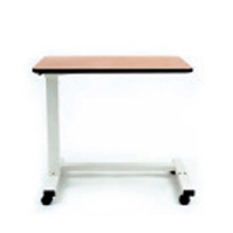 "Overbed Table, Hospital, Gas cylindes, 18"" x 32"" Top, C Base"