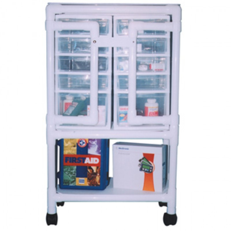 """Universal Cart, Length: 28"""", Depth: 14"""", Height With Casters: 49"""""""