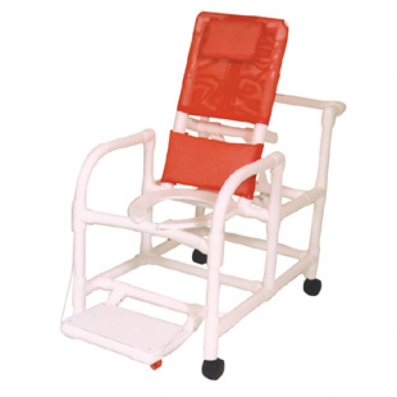Reclining Shower Chair, Capacity: 250 lbs