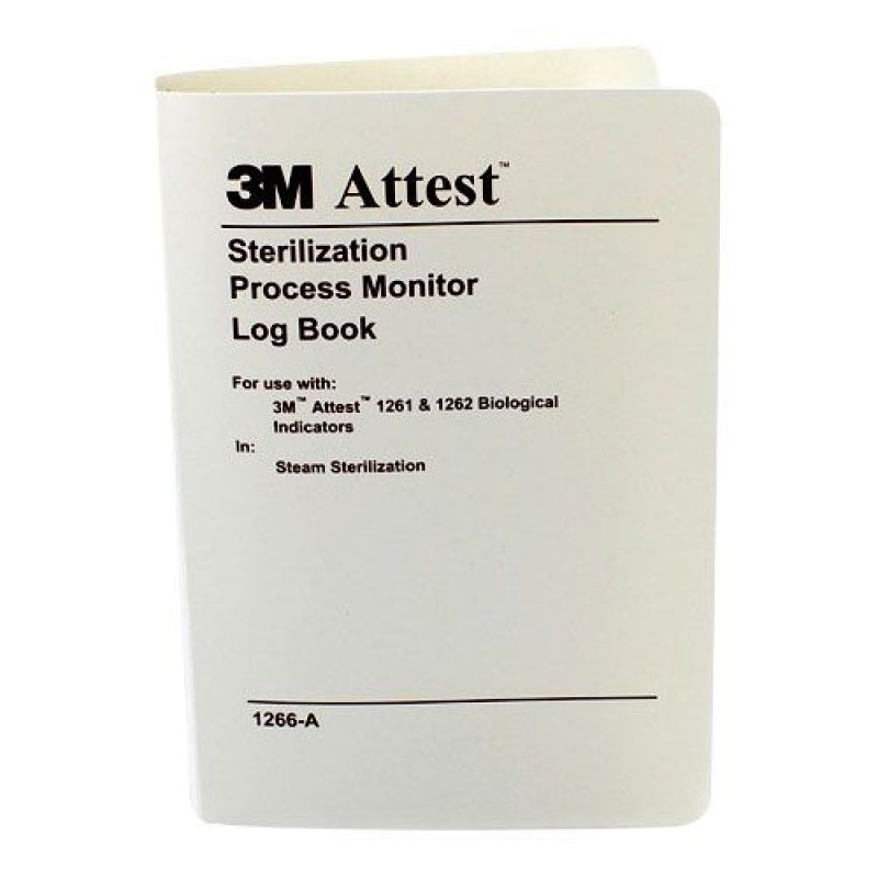 Attest Log Book for Steam Sterilizers