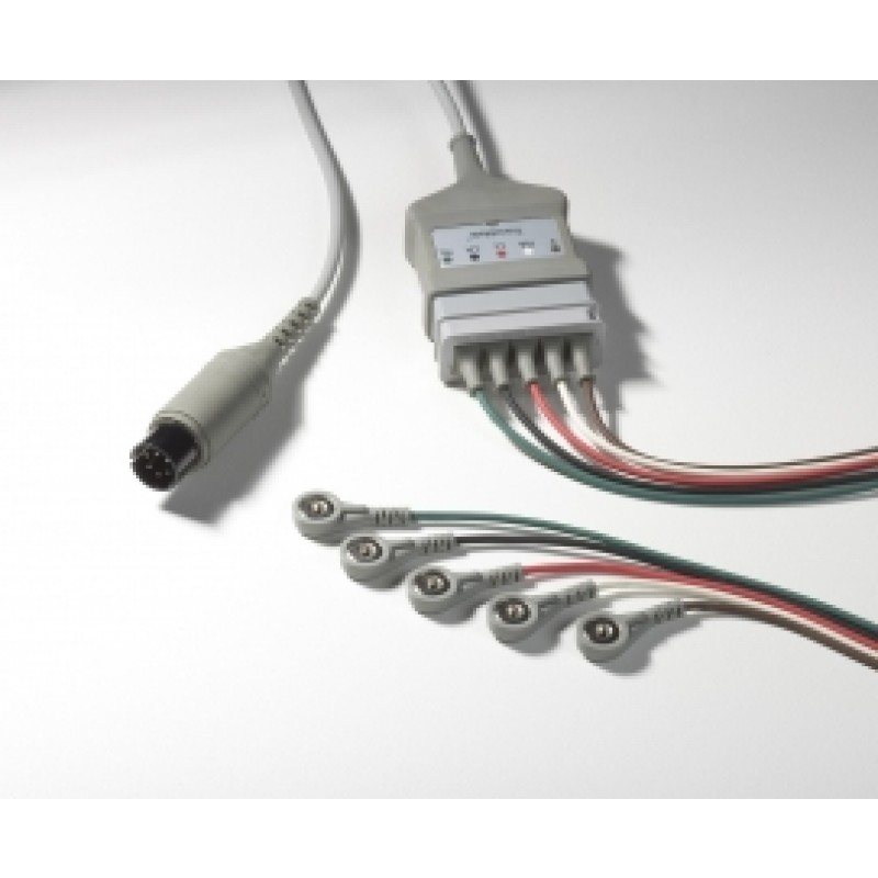 Advisor Wires, 5-Lead For Vital Signs Monitor