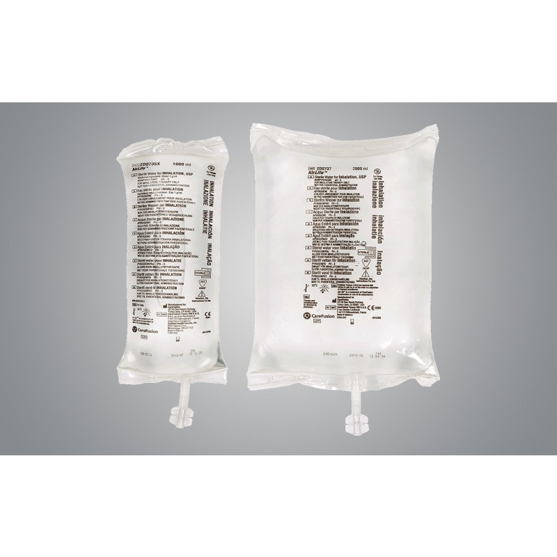 AirLife Sterile Water in 1000 mL Flex Bag