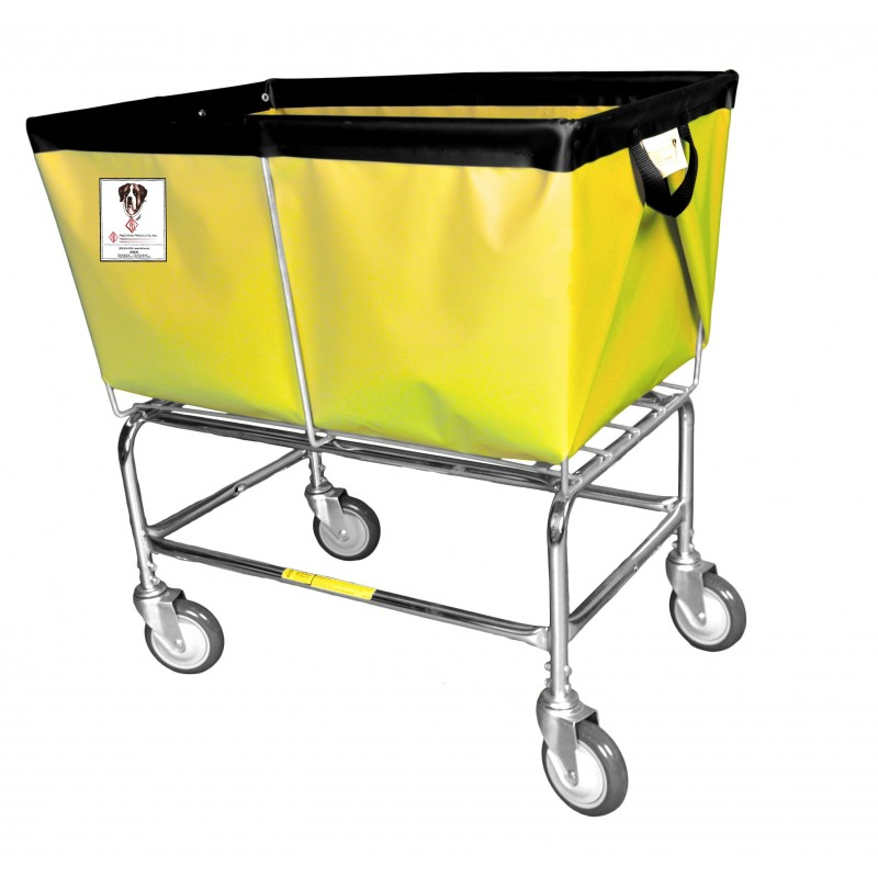 3 Bushel Elevated Basket Truck with Sewn-On Vinyl/Nylon Liners