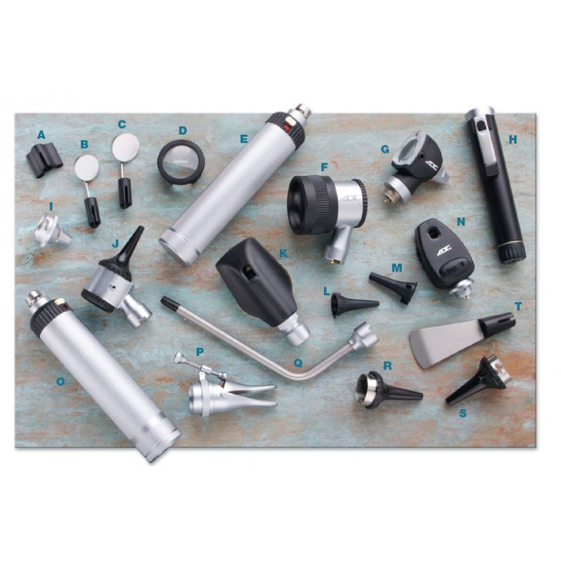 Diagnostic Replacement Parts (Insufflator Fitting, Otoscope)