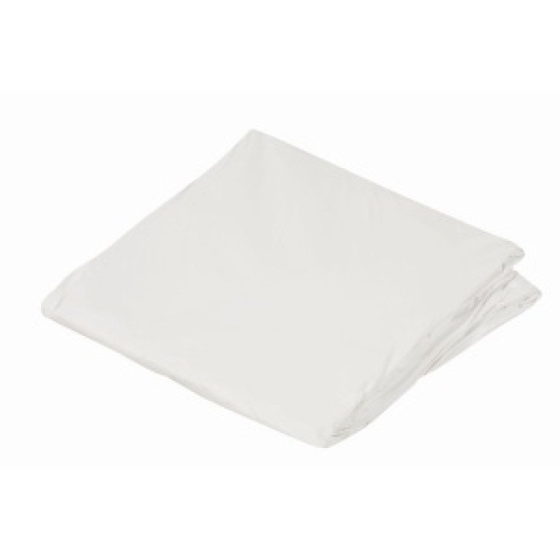 Contoured Plastic Protective Mattress Cover for Home Beds, King