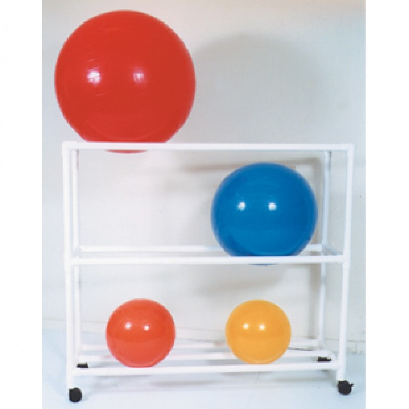 "Therapy Ball Racks, Stationary Rack, 64"" L x 19"" W x 62"" H"