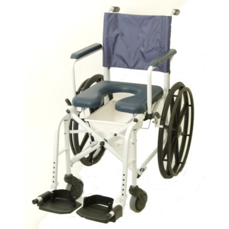 "Mariner Rehab Shower Commode Chair 23"" Wheels"