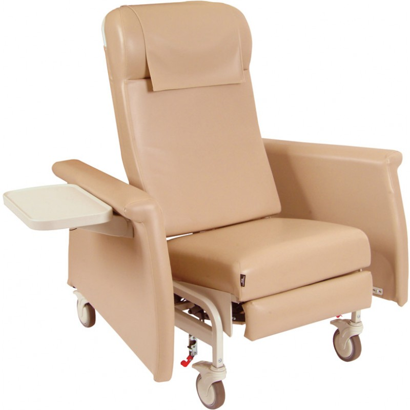 Elite Care Cliner with Swing Away Arms Nylon Casters