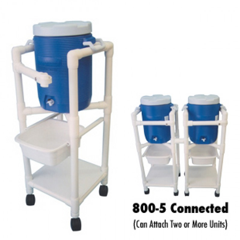 Hyration/Ice Cart  With User-Friendly Swing Gate