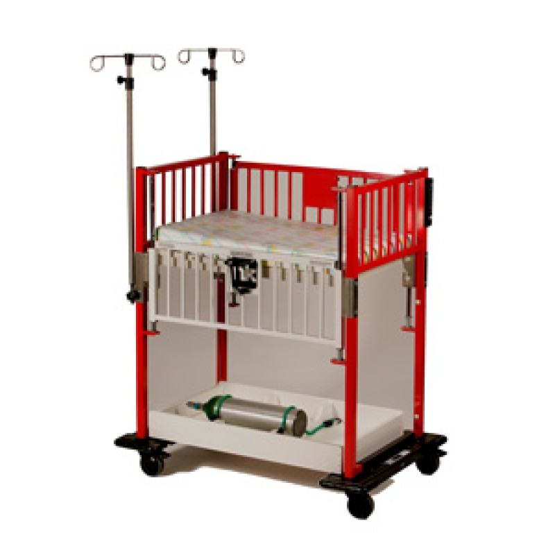 Under Crib Storage With O2 tank cutouts for Cribette