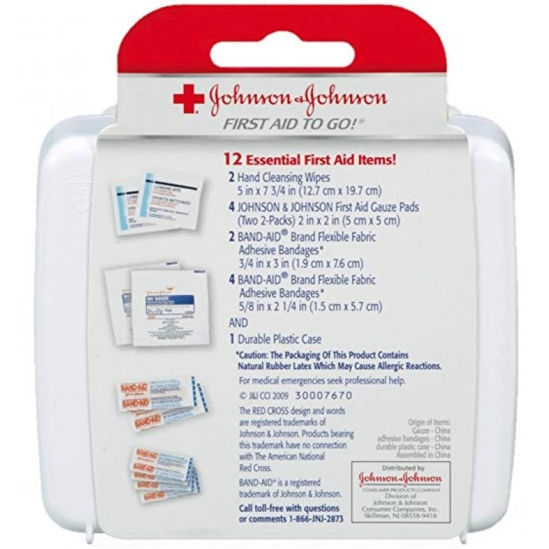 First Aid Kit To Go