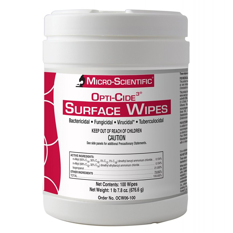 Disinfectant Surface Wipes OPTI-CIDE3
