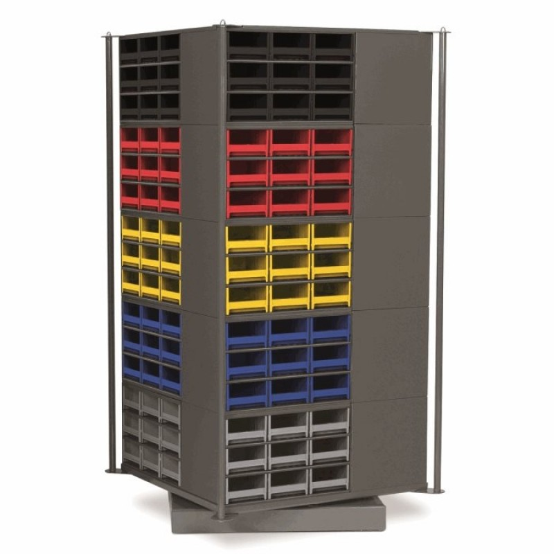 Storage Go Round Rotating Base and Accessories for the Steel 19 Series Cabinets