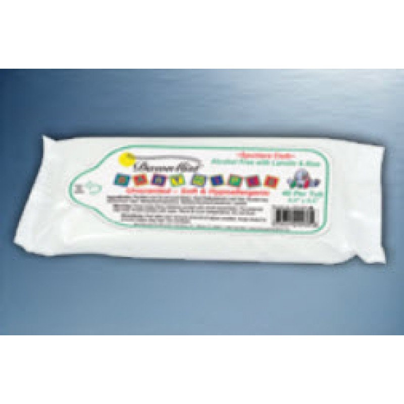 """DawnMist Baby Wipes, Non-Sterile, Latex Free, Scented, 7"""" x 8"""""""
