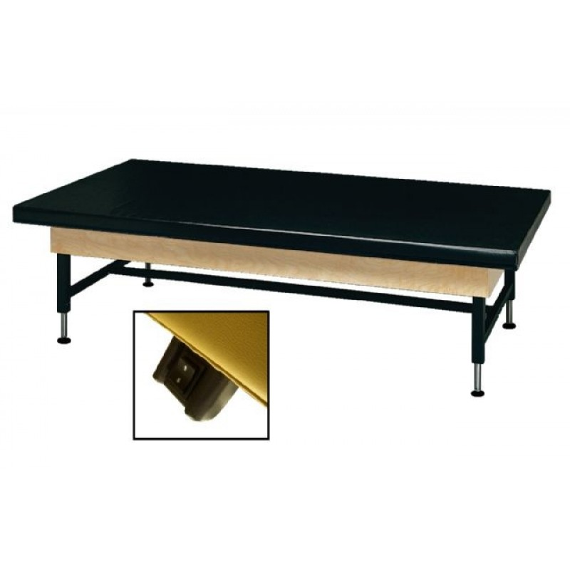 4 Feet Electric Economy Hi-Low Upholstered Top Mat Table