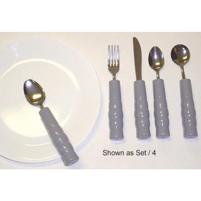 Weighted Utensils Set 3 Teaspoon Fork and Knife