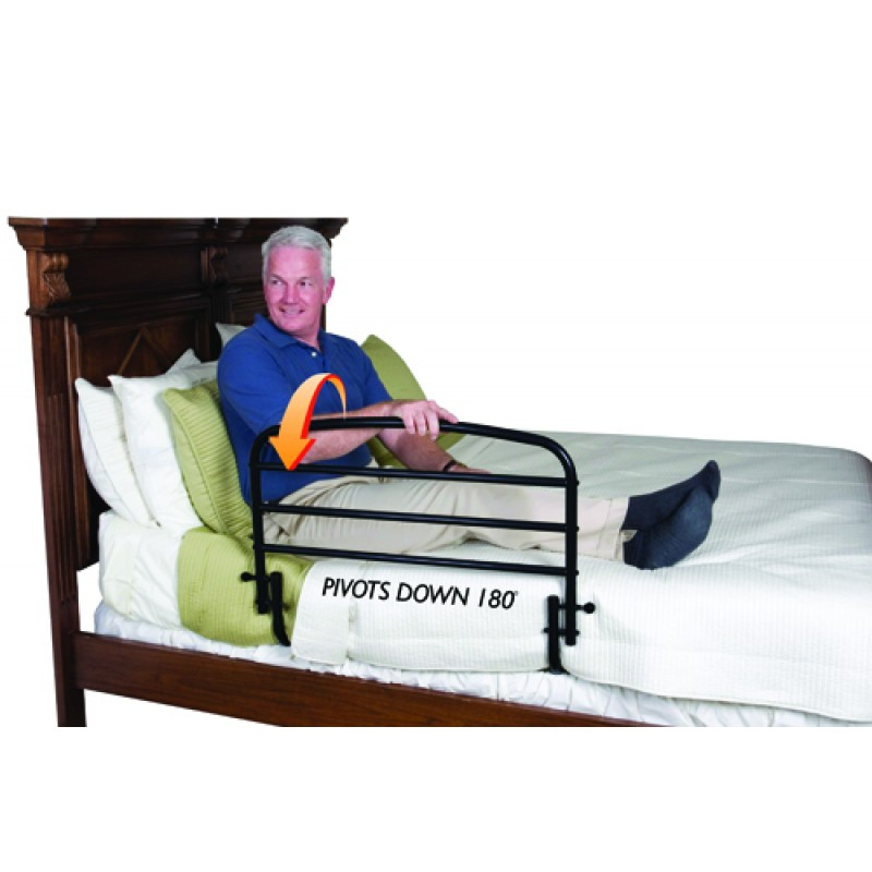 Fold Down Safety Bed Rail