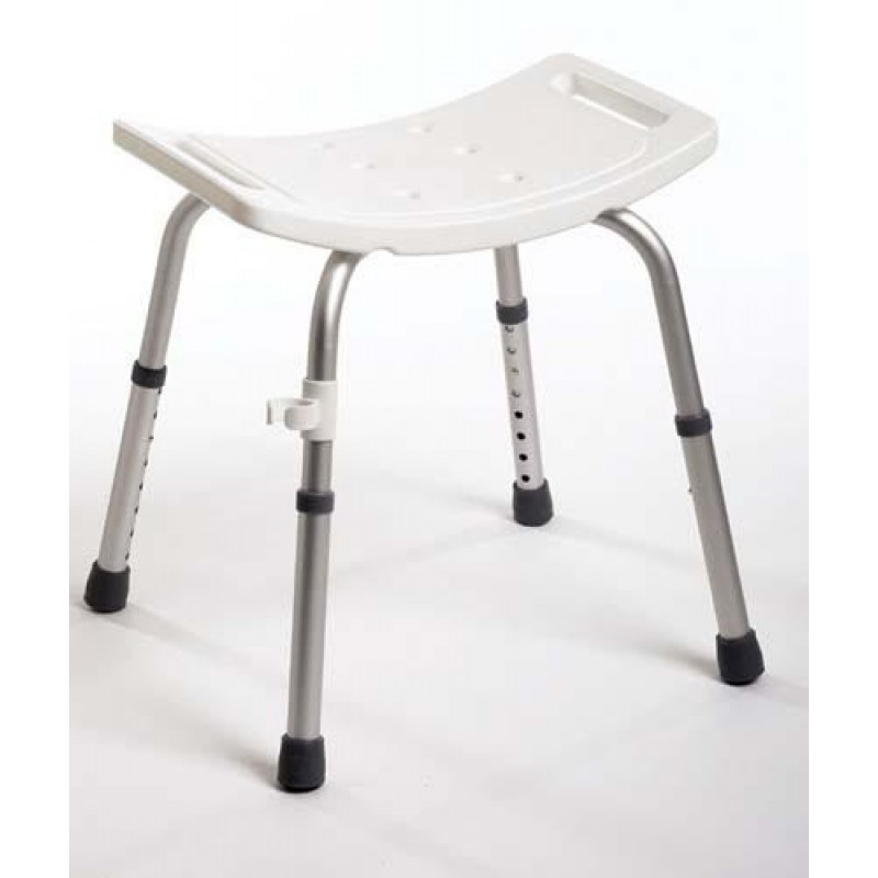 Shower Chair Assembled W/O Back - Guardian
