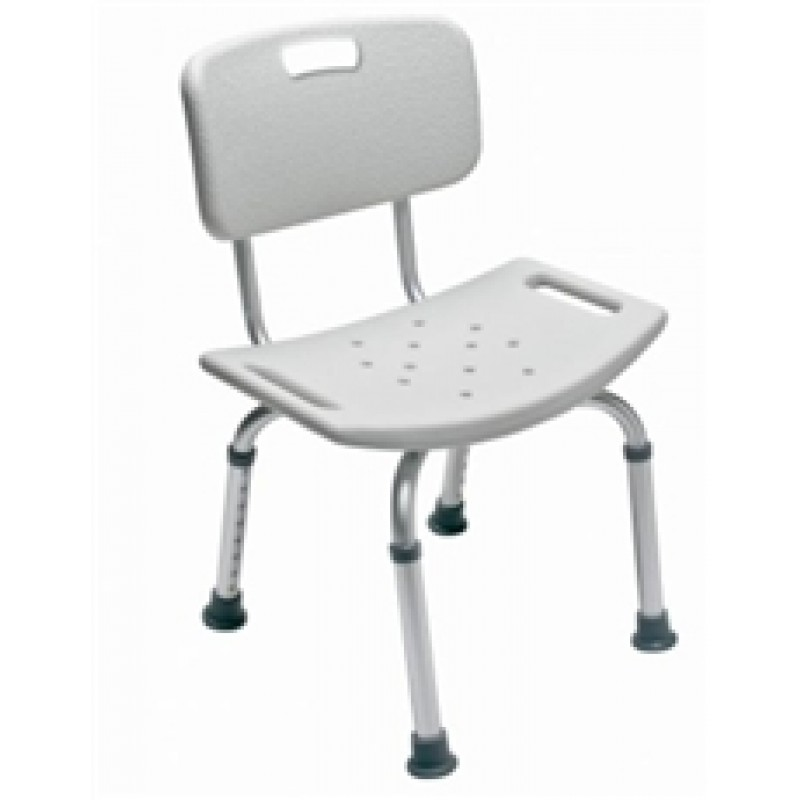 Lumex Platinum Collection Bath Seat With Backrest And Seat Cutout