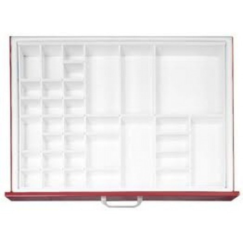 Full CC Drawer Divider Tray #1, (ea) Fixed Dividers