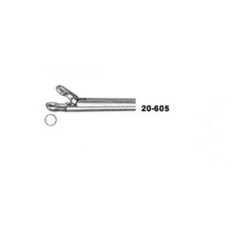 Hildyard Post-Nasal Forceps, 3.5mm Cups, Shaft 12cm, 6 2/3""