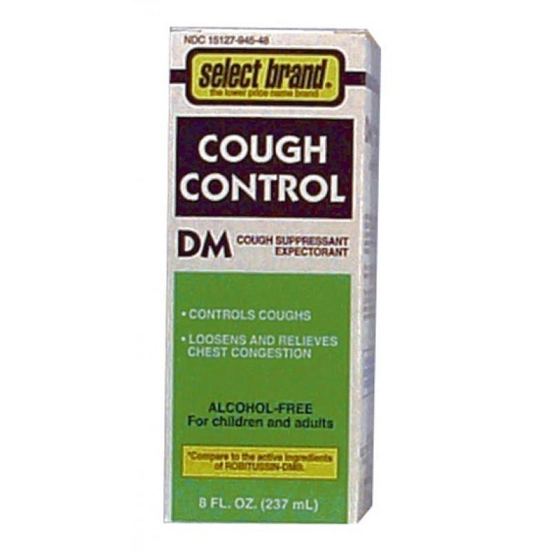 Cough Control DM Compare to Robitussin® Alcohol Free
