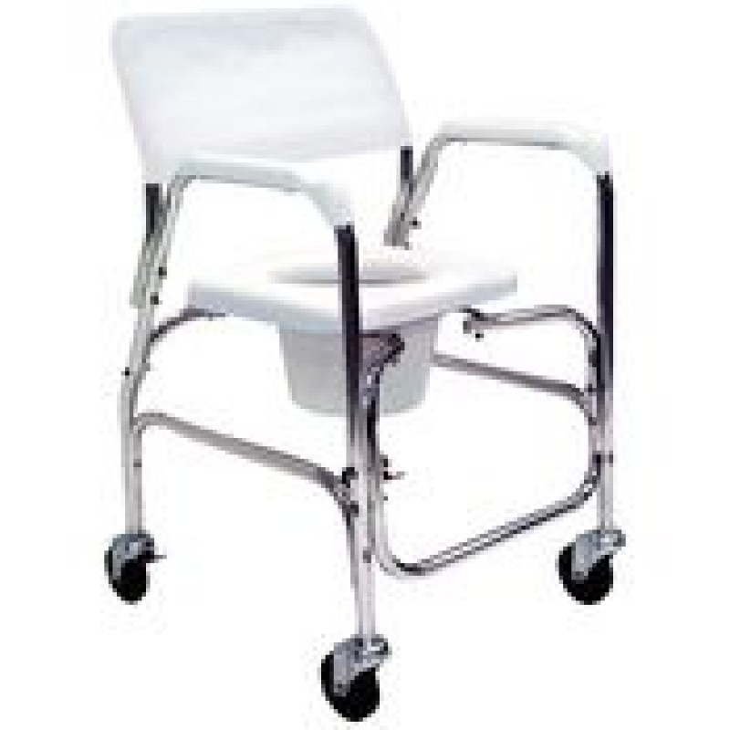 Transport Shower Commode Chair