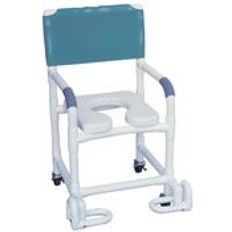 Shower Chair with Footrest
