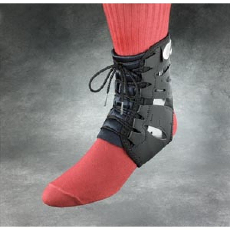 Ankle Brace, Built-In Stabilizer, Small, Black (SWE22812, 083075)