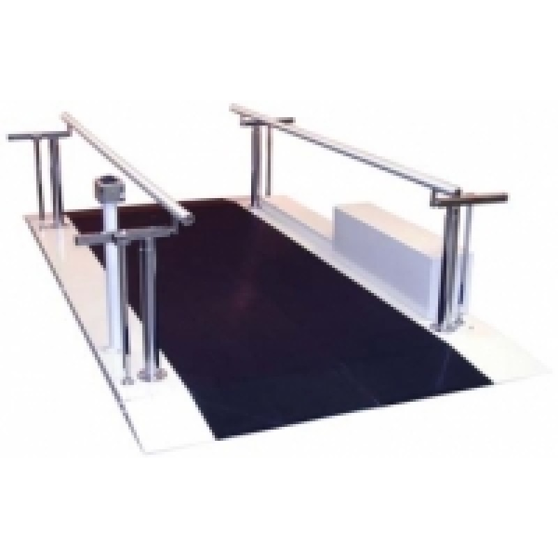 8' Bariatric Motorized Height & Width Adjustable Parallel Bar
