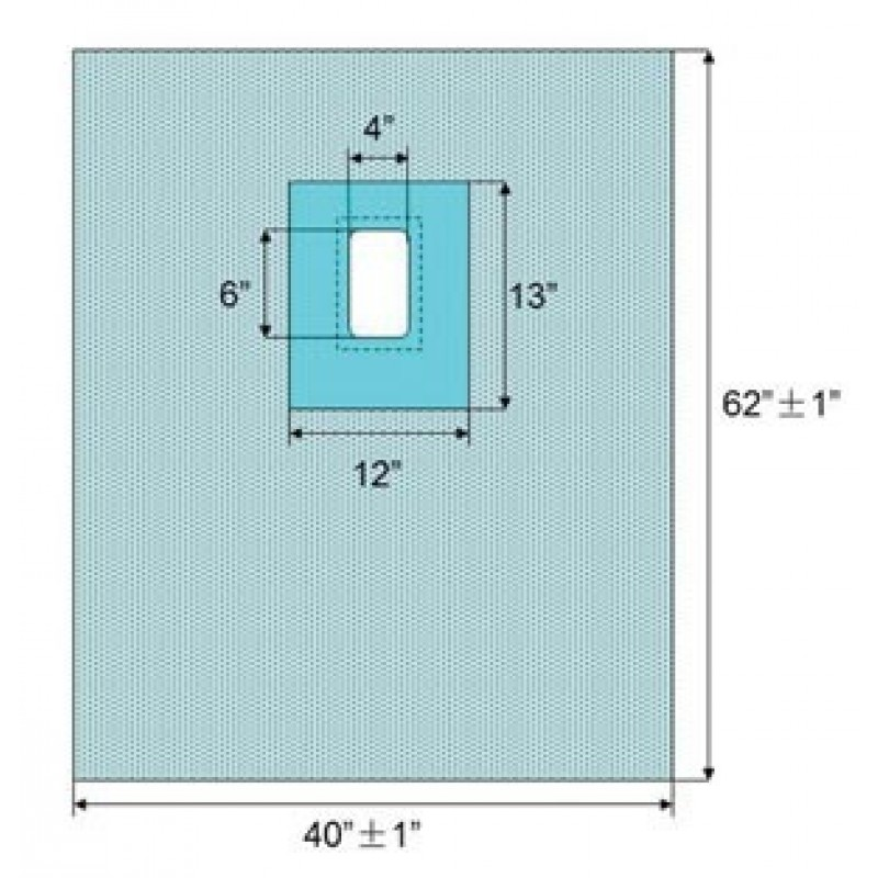 Protect 5 Fenestrated Drape, 40