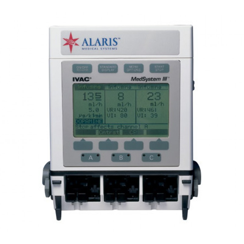 MedSystem III Multi-Channel Infusion Pump Refurbished