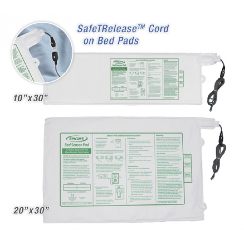 """Smart Timed Bed Monitor Pressure Pad 10"""" x 30"""""""