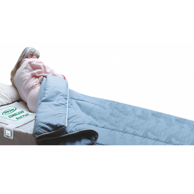"""CordLess® Bed Sensor Pad 10"""" x 30: with transmitter"""
