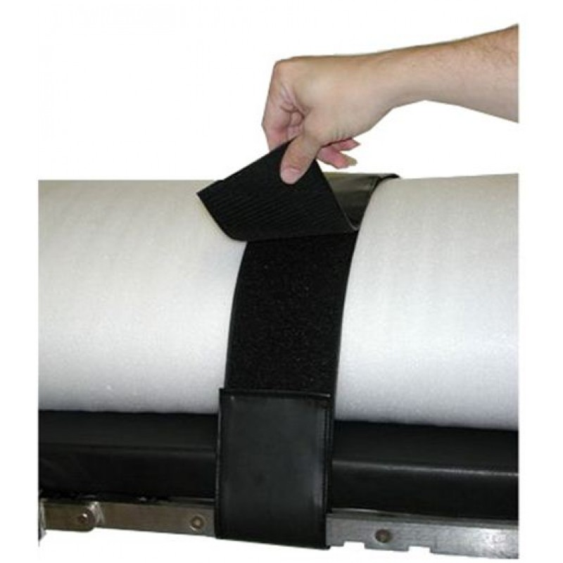 Deluxe Two Piece Vinyl Velcro Surgical Table Restraint Strap