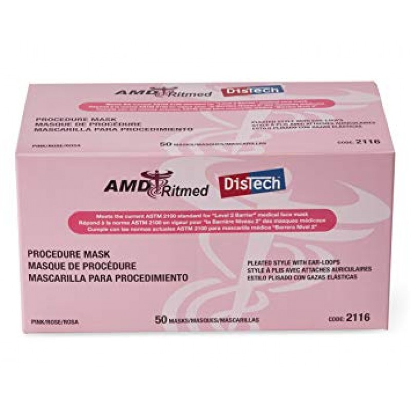 amd ritmed distech procedure disposable medical face mask