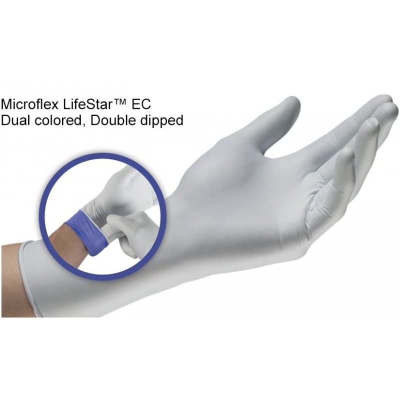 LifeStar EC Nitrile Extended Examination Gloves