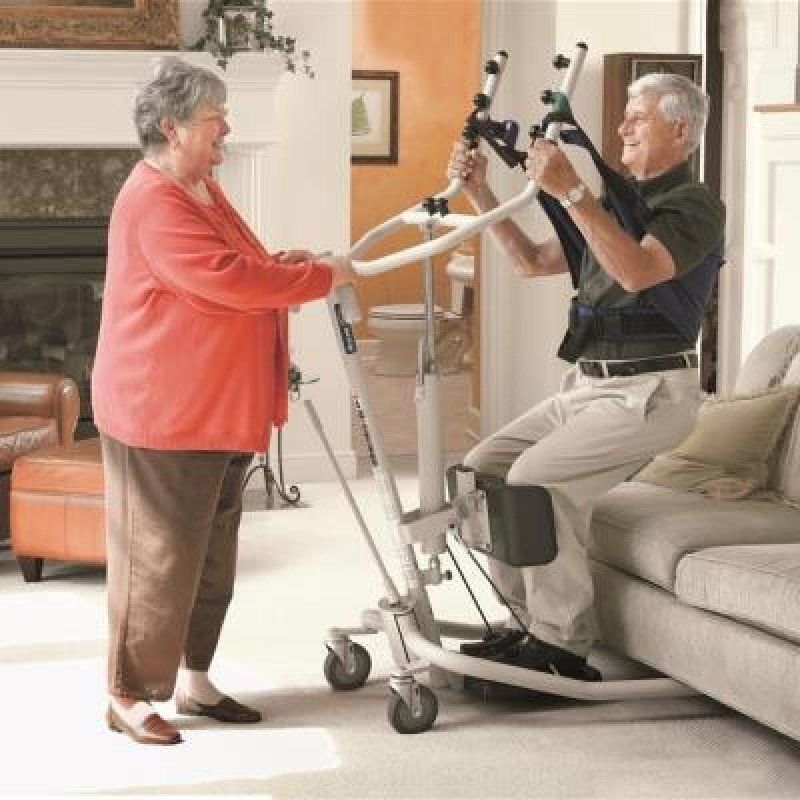 Invacare GHS350 Get-U-Up Hydraulic Stand-Up Lift