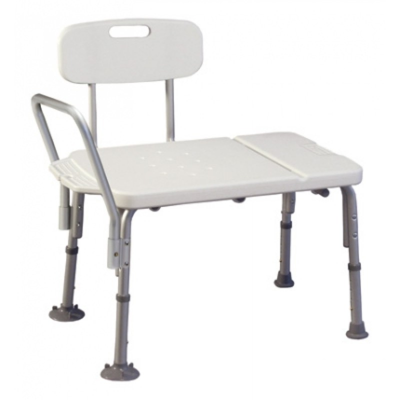 Lumex Imperial Collection Transfer Bench - Grey