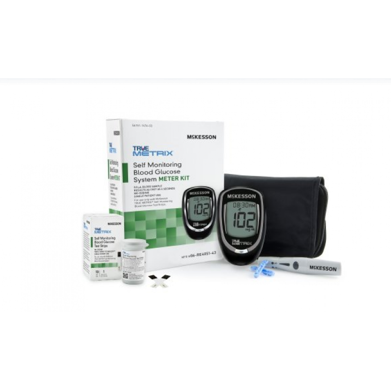 Blood Glucose Meter McKesson TRUE METRIX®
